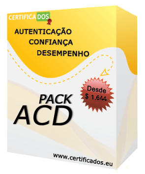 pack certificados ACD41