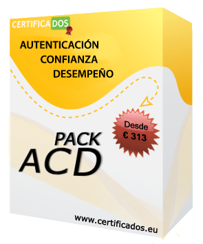 pack certificados ACD