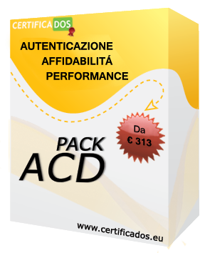 pack certificados ACD4